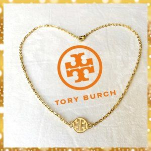 NEW TORY BURCH AUTHENTIC CHARM W CHOKER NECKLACE
